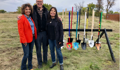 Oglala Lakota ground breaking, 2018