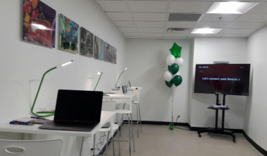 Photo of technology lab